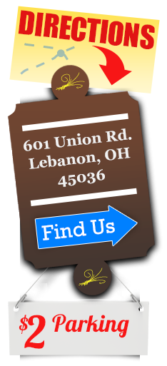 Directions: 601 Union Rd. Monroe, Ohio 45050.  Find Us >